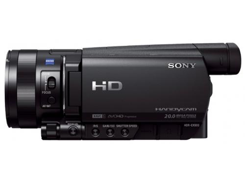 Видеокамера Sony HDR-CX900E, чёрная, вид 2