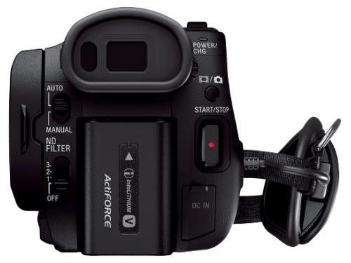 Видеокамера Sony HDR-CX900E, чёрная, вид 4