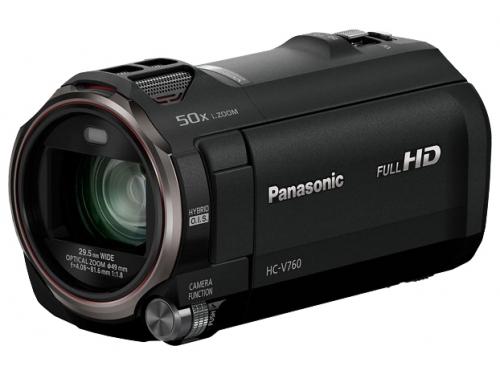 Видеокамера Panasonic HC-V760 Black, вид 1