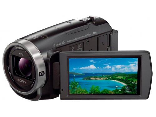 Видеокамера Sony HDR-CX625, чёрная, вид 1