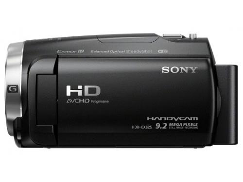 Видеокамера Sony HDR-CX625, чёрная, вид 2