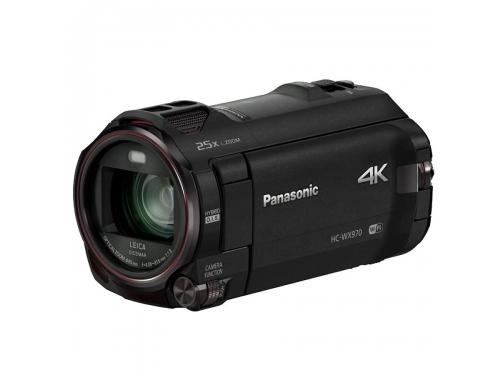 Видеокамера Panasonic HC-WX970, черная, вид 1