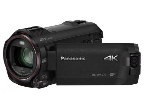 Видеокамера Panasonic HC-WX970, черная, вид 2