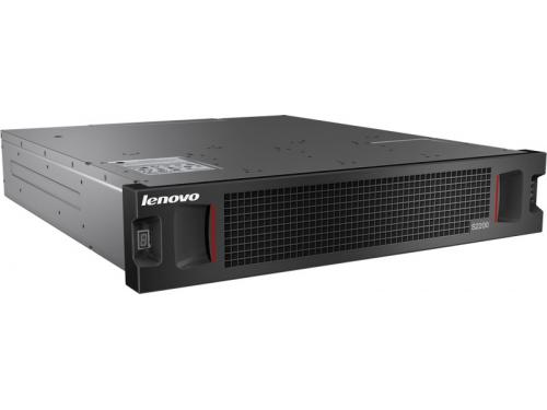 Сетевой накопитель Lenovo Storage S2200 SAS LFF Chassis Dual FC/iSCSI Controller (64114B2), вид 1