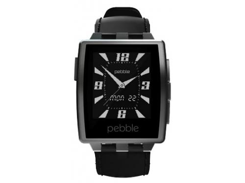 Умные часы Pebble Smartwatch Steel, черные, вид 2