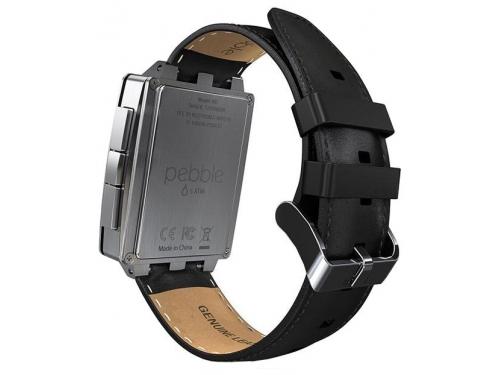 Умные часы Pebble Smartwatch Steel, черные, вид 8