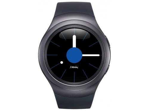 Умные часы Samsung GEAR S2 Sports, чёрные, вид 1