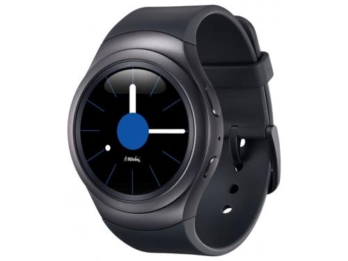 Умные часы Samsung GEAR S2 Sports, чёрные, вид 2