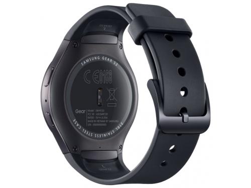 Умные часы Samsung GEAR S2 Sports, чёрные, вид 4