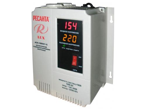 Стабилизатор напряжения Ресанта АСН-1000Н/1-Ц LUX, вид 1