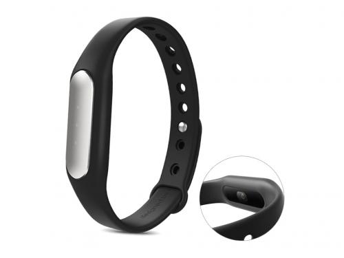 Фитнес-браслет Xiaomi Mi Band 1S Pulse, черный, вид 1