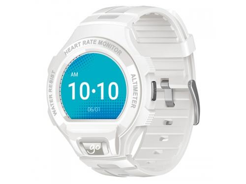 Умные часы Alcatel GO WATCH (SM03), белый/светло-серый, вид 1