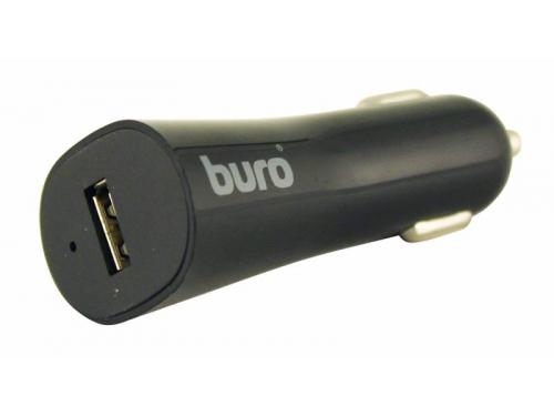 Зарядное устройство Buro 2.4A, автомобильное,TJ-186,черный, вид 1