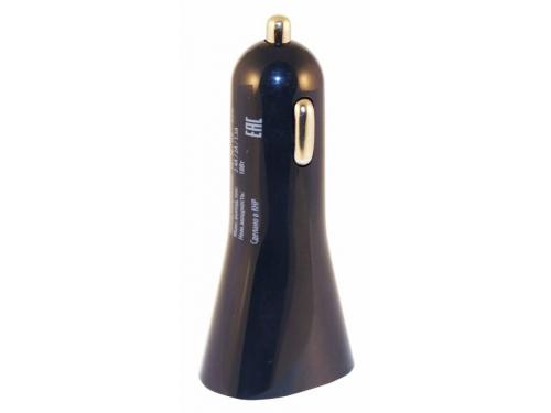 Зарядное устройство Buro 2.4A, автомобильное,TJ-186,черный, вид 2