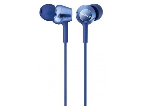 Наушники Sony MDR-EX250AP, синие, вид 1