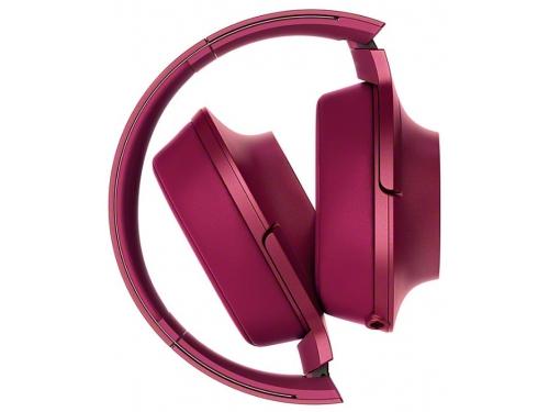 Наушники Sony MDR-100AAPRC, красные, вид 4