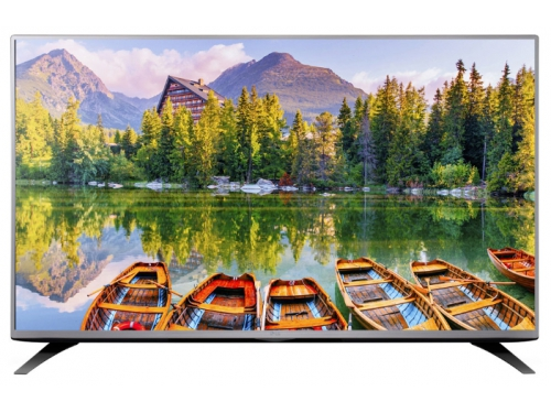 телевизор LG 49LH541V, цвет металл, вид 2