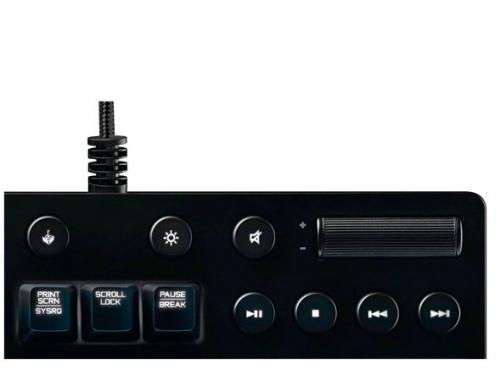 Клавиатура Logitech G610 (Cherry MX Brown), чёрная, вид 3