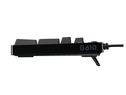 Клавиатура Logitech G610 (Cherry MX Brown), чёрная, вид 4