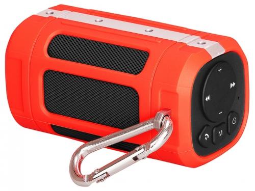 Портативная акустика InterStep SBS-120, красная, вид 2