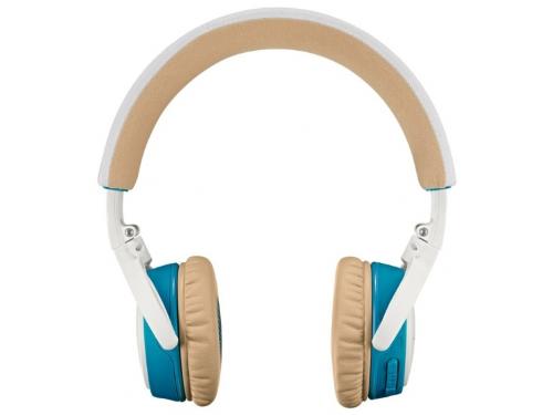 Гарнитура bluetooth Bose SoundLink OE, бело-синяя, вид 1