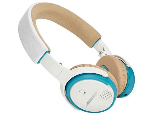 Гарнитура bluetooth Bose SoundLink OE, бело-синяя, вид 2