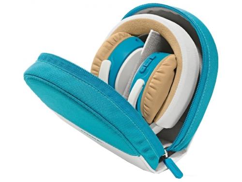 Гарнитура bluetooth Bose SoundLink OE, бело-синяя, вид 3