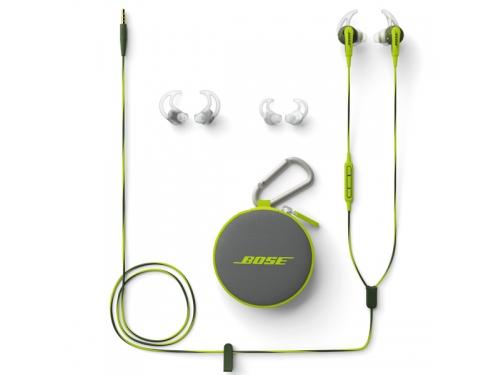 Наушники Bose SoundSport (iOs), зеленые, вид 1