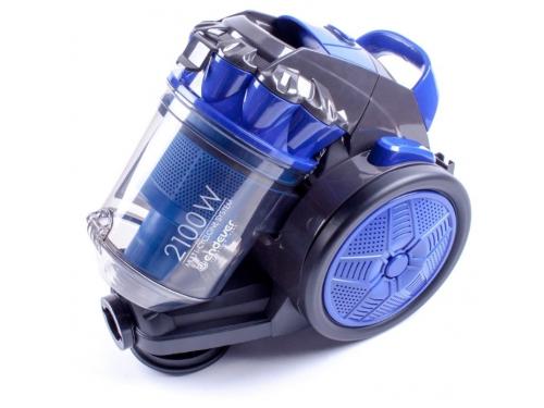 Пылесос Endever VC-560 черно-синий, вид 1