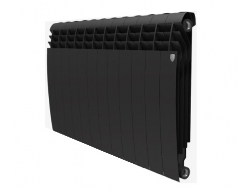 Радиатор отопления Royal Thermo BiLiner 500 х12 Noir Sable, вид 1