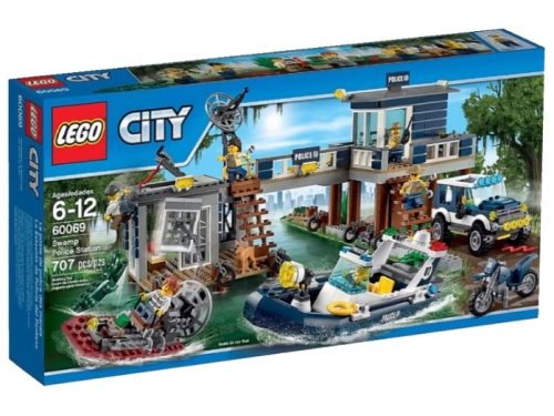 Конструктор LEGO City Участок новой Лесной Полиции (60069), вид 2