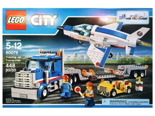 Конструктор Lego City (60079) Транспортер для учебных самолетов, вид 1