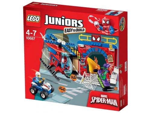 Конструктор LEGO Juniors Убежище Человека-паука (10687), вид 2