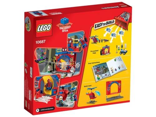 Конструктор LEGO Juniors Убежище Человека-паука (10687), вид 3