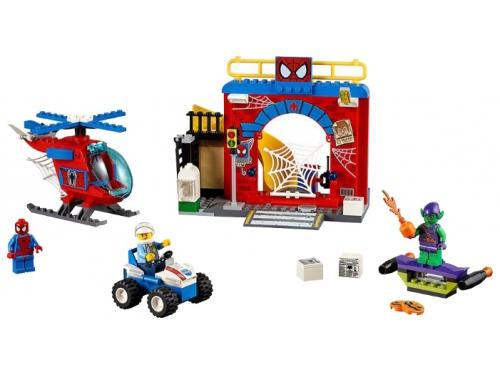 Конструктор LEGO Juniors Убежище Человека-паука (10687), вид 4