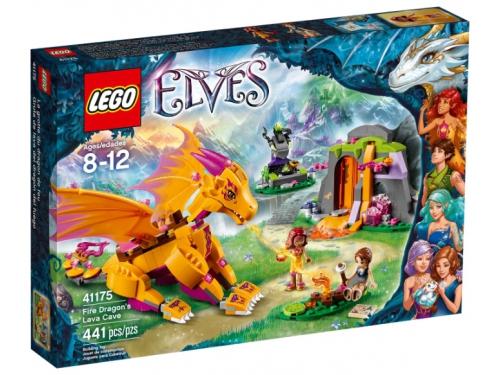 Конструктор Lego Elves (41175) Лавовая пещера дракона огня, вид 1