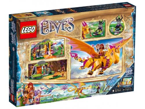 Конструктор Lego Elves (41175) Лавовая пещера дракона огня, вид 2