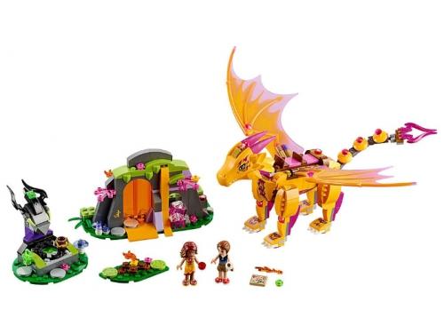 Конструктор Lego Elves (41175) Лавовая пещера дракона огня, вид 3