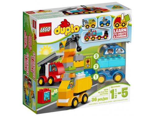 Конструктор LEGO Duplo Мои первые машинки (10816), вид 2