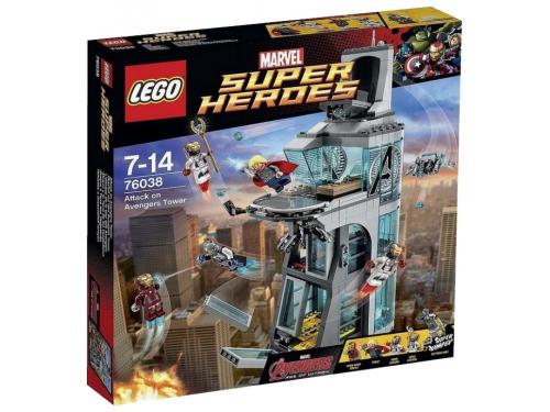Конструктор LEGO Super Heroes Нападение на башню Мстителей (76038), вид 2