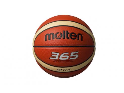 Мяч баскетбольный Molten BGH7X №7,  желтый/черный, вид 1