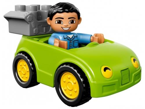 Конструктор LEGO Duplo Буксировщик (10814), вид 4