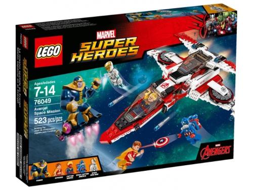 Конструктор LEGO Super Heroes Реактивный самолёт Мстителей (76049), вид 1