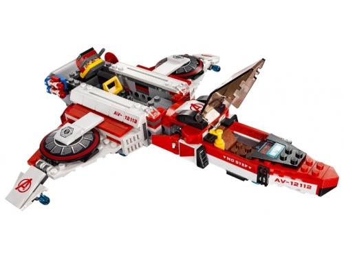 Конструктор LEGO Super Heroes Реактивный самолёт Мстителей (76049), вид 4
