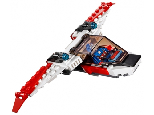 Конструктор LEGO Super Heroes Реактивный самолёт Мстителей (76049), вид 5