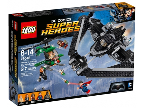 Конструктор LEGO Super Heroes Поединок в небе (76046), вид 1