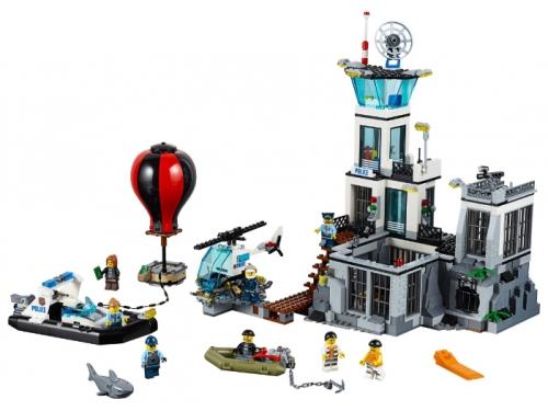 Конструктор LEGO City Остров-тюрьма (60130), вид 2