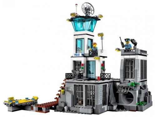 Конструктор LEGO City Остров-тюрьма (60130), вид 3
