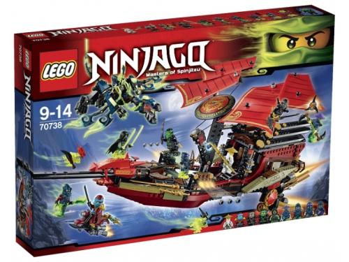 Конструктор LEGO Ninjago Корабль Дар судьбы, Решающая битва (70738), вид 1