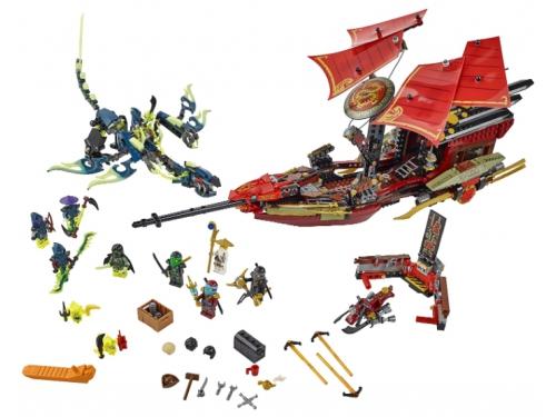 Конструктор LEGO Ninjago Корабль Дар судьбы, Решающая битва (70738), вид 2